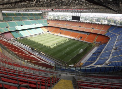 Milan have been playing at the San Siro since 1926.