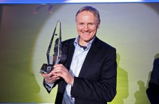 Joe Schmidt wins Philips Manager of the Year award