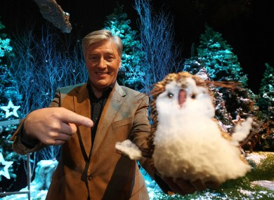 Kenny on the set of the Toy Show in 2007