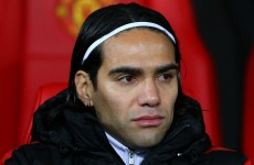 Falcao just a bit part player for now says Van Gaal
