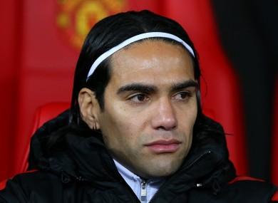 Manchester United striker Radamel Falcao is yet to return to full fitness.