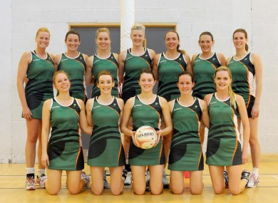 The Irish netball team pictured following their recent win over Gibraltar.