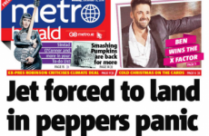 Staff at the Metro Herald are having a bit of fun on its last day