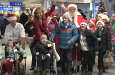 """""""The true meaning of Christmas"""": Children from Chernobyl arrived in Ireland today"""