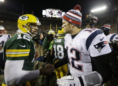 #12 meets #12 after the game.