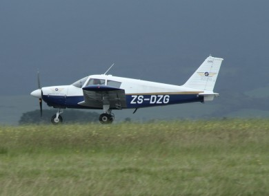 File photo of a Piper light aircraft