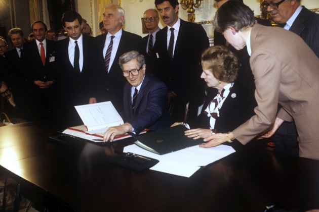 political consequences of the anglo irish agreement But treasury minister ian gow - one of mrs thatcher's closest political allies  1985: anglo-irish agreement signed 1998: iraqi climbdown averts air strikes.