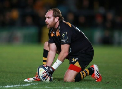 Andy Goode kicked 12 points for the victors.