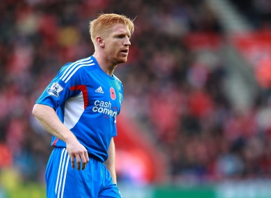 Paul McShane last played for Hull at the start of November.