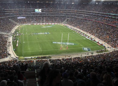 The FNB Stadium, Johannesburg: South Africa are likely to be one of Ireland's major rivals.