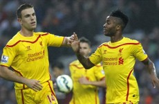 Henderson and Sterling: Liverpool's leaders for the post-Gerrard generation