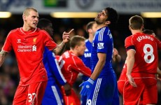Rodgers condemns 'nasty' Costa, says Liverpool were the better team