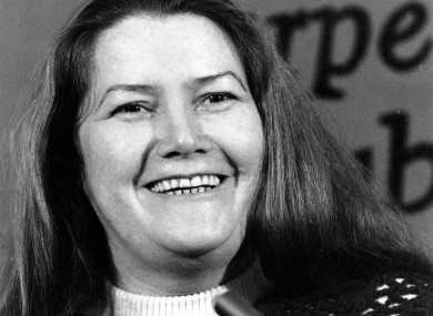 Colleen McCullough pictured in 1977