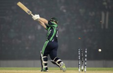 Ireland hit stumbling block as they lose to Afghanistan for first time in five years