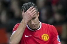Van Persie casts doubt over Manchester United future