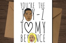 These hip-hop Valentine's Day cards are positively rosemantic