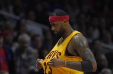 7 examples of LeBron James playing absolutely awful defence this season