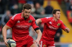 Munster's Dave Foley ruled out of Six Nations after wrist surgery
