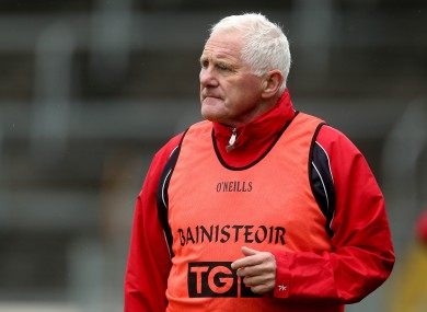 Eamonn Ryan has steered Cork to nine All-Ireland titles in ten years.