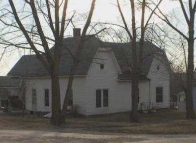 The house in Elmo, Missouri.