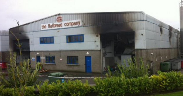 Bread factory thanks firefighters for bringing blaze under control