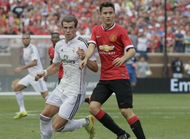 Real and United continue to do battle off the pitch as well.