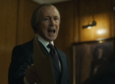 A greyer Aidan Gillen in the final episode of Charlie.