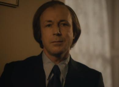 Aidan Gillen plays Charlie Haughey