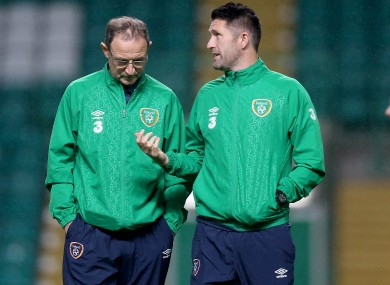 Martin O'Neill and Robbie Keane both had a vote in this evening's Ballon D'Or award.
