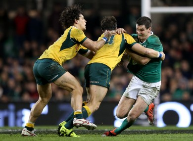 Sexton has been sidelined since picking up a concussion against Australia in November.