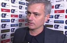 'It is a disgrace we were knocked out' – Mourinho 'ashamed' of players