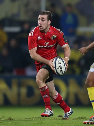 Hanrahan started at inside centre for Munster away to Clermont.