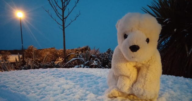 Proof: There IS snow in some parts of Ireland today