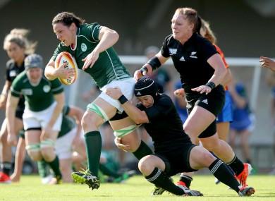 Fitzpatrick helped Ireland to beat New Zealand last year.