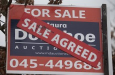 Going up: Irish property prices rose by 16.3% in 2014