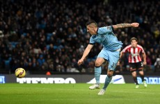 Man City and Sunderland shared 5 goals in 16 mad minutes of football