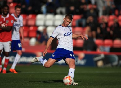 Chesterfield's Eoin Doyle has been in good form in League One this season.