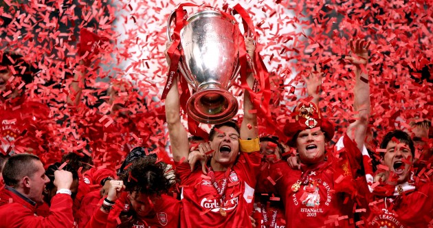 17 brilliant pictures of Steven Gerrard's career with Liverpool