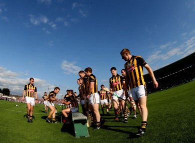 Kilkenny won't be playing in the Walsh Cup this year.