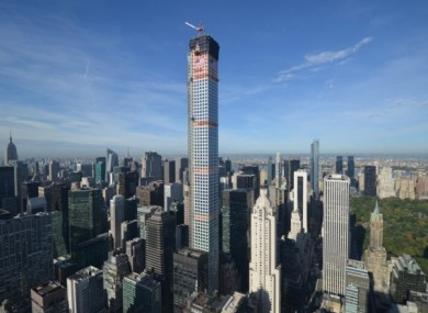 432 Park Avenue - the tallest residential building in the world.