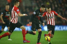 Rodgers: Lallana deserved better from Southampton fans