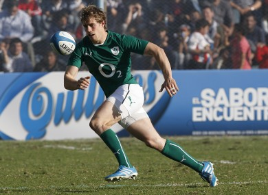 Trimble last played for Ireland on the summer tour to Argentina.