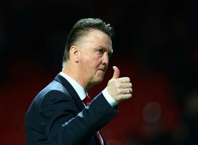 Louis van Gaal is under fire following some below-par United performances of late.