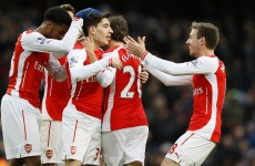 Arsenal back in the title race? Let's wait and see, says Arsene Wenger