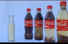 Coke mixed with milk is the stuff nightmares are made of