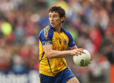 Roscommon's Colin Compton was the star of the show for Garda College today.