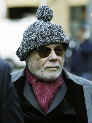 Gary Glitter pictured during his trial.