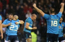 Italy snatch dramatic victory with last-gasp penalty try at Murrayfield