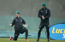 Sexton 'raring to go' as Ireland welcome (almost) a full house to training