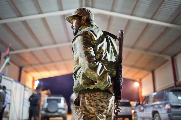 What's the conflict in Libya about?